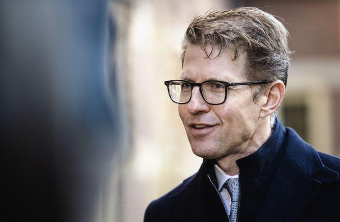 Sander Dekker, demissionair minister voor Rechtsbescherming.
