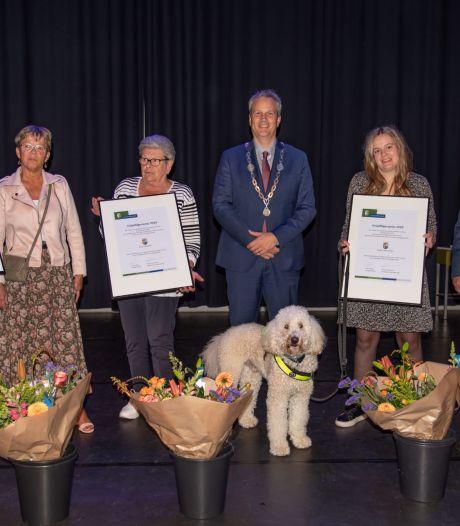 Vrijwilligers in de schijnwerpers gezet in Hilvarenbeek: drie winnaars