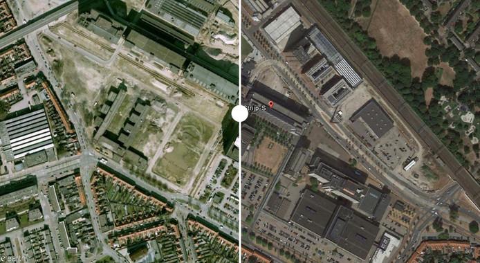 Strijp-S in Eindhoven is in de loop der jaren behoorlijk veranderd.