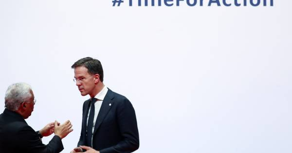 In Madrid toont Mark Rutte zich de groene klimaatpaus die hij in eigen land niet wil zijn