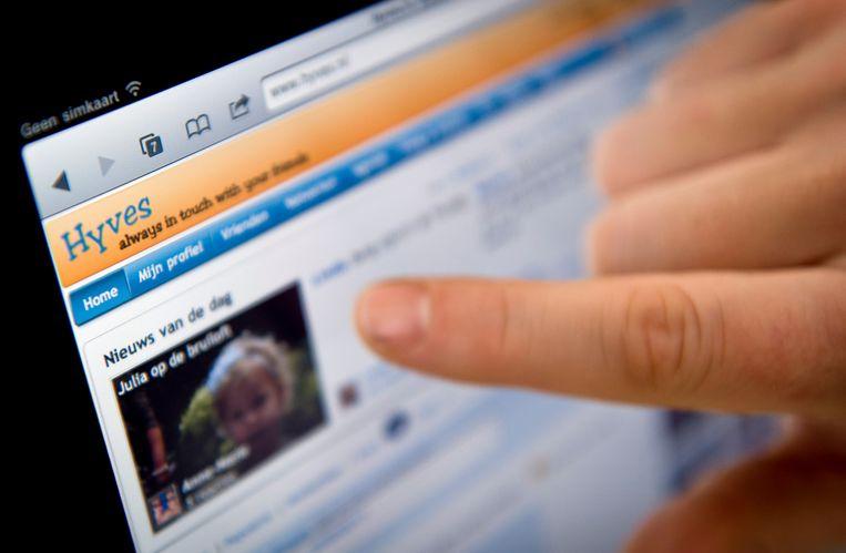 Anders dan de Nederlandse social media-site Hyves, houden Startpagina en SchoolBANK zich nog altijd staande . Beeld ANP