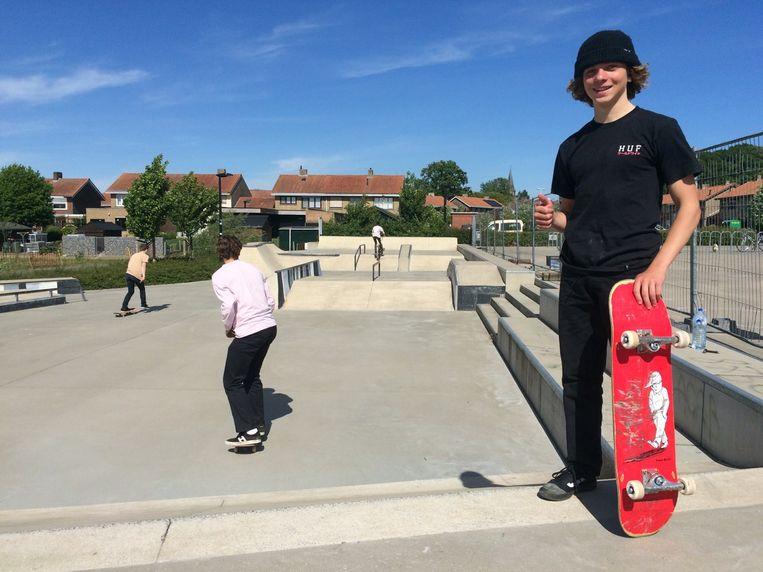 Het skatepark in Zwevezele wordt druk bezocht door jongeren