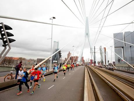 Willemsbrug vervangt Erasmusbrug in parcours Bruggenloop