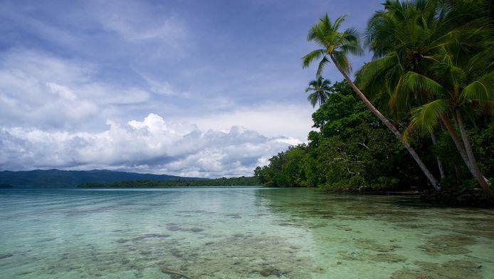 Uepi, een van de Salomonseilanden.