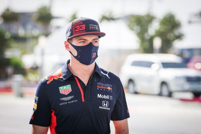 Verstappen in Abu Dhabi.