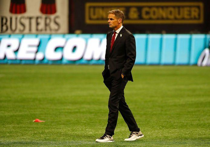 Frank de Boer in zijn tijd bij Atlanta United.