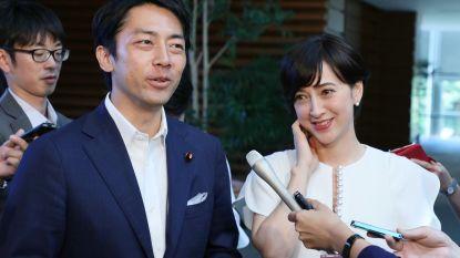Als Japanse premier getipte minister neemt vaderschapsverlof op en daar is veel om te doen