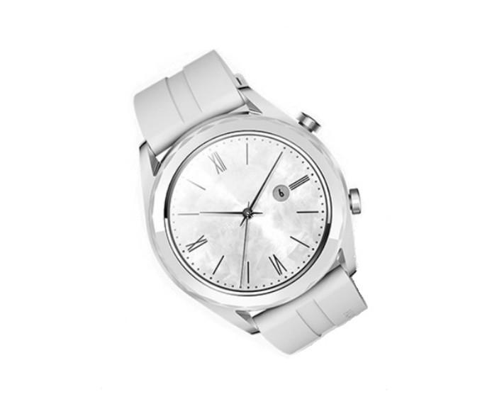 De 'Elegant'-versie van de Huawei Watch GT.