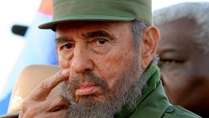 Fidel Castro à La Havane en 2006.
