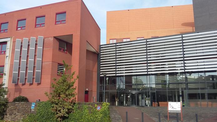 Het Nijmeegse hoofdgebouw van de Hogeschool voor Arnhem en Nijmegen (HAN) aan de Kapittelweg. In Nijmegen studeren bijna 25.000 studenten van de HAN.