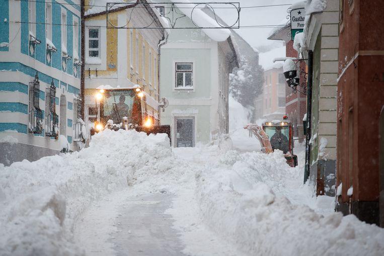 Beeld uit Vordernberg, Oostenrijk. Beeld AFP