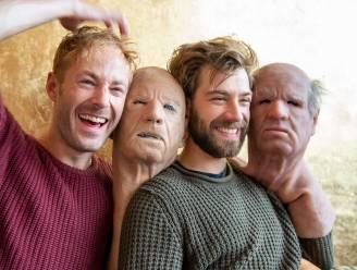 Deze twee acteurs schuilen achter de vliegende bompa's uit 'Belgium's Got Talent'