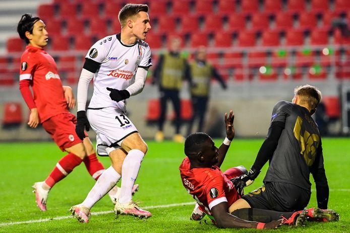 Johannes Eggestein scoorde vorig seizoen tegen Antwerp in de Europa League.