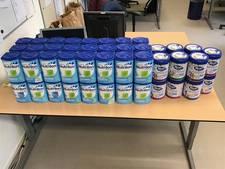 Winkeldieven stelen 64 pakken melkpoeder in Westervoort