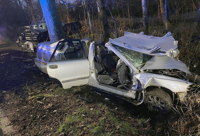 Beide bestuurders raakten zwaargewond.