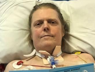 """Al dertien maanden ligt coronapatiënt Jason (49) op intensieve zorg van Brits ziekenhuis: """"Ik vrees dat hij stilaan alle geloof in herstel kwijt is"""""""