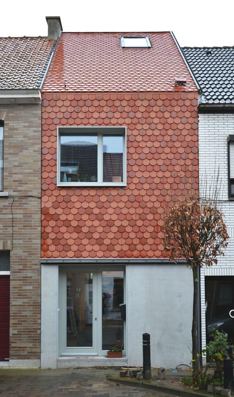 Een huis van MVC Architecten, het bureau van Robbe Van Caimere. Ze willen niet de goedkoopste zijn, maar investeren in ontwerp, uitvoering en opvolging. Beeld rv