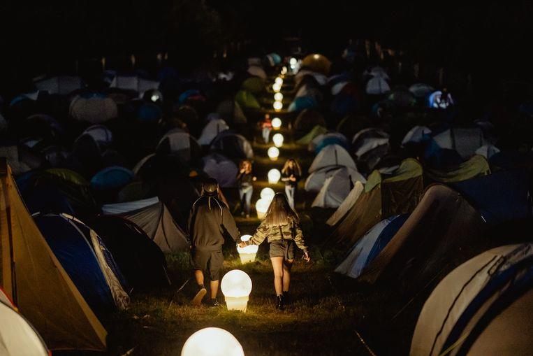 De camping op Electric Castle Beeld Electric Castle