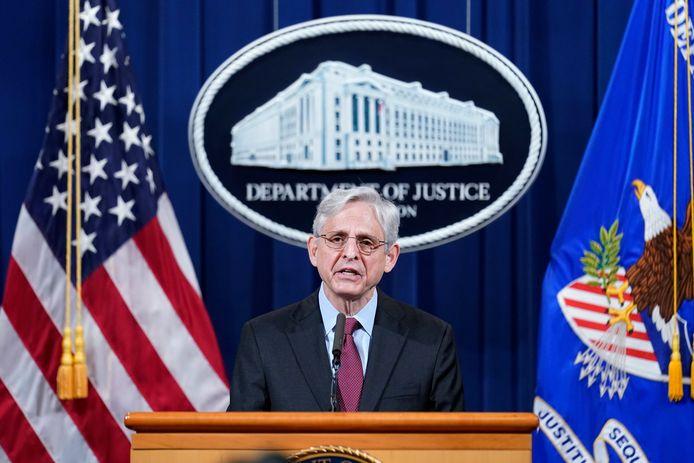 Le ministre américain de la Justice Merrick Garland.