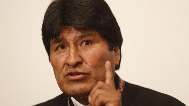 De Boliviaanse president Evo Morales. Beeld afp