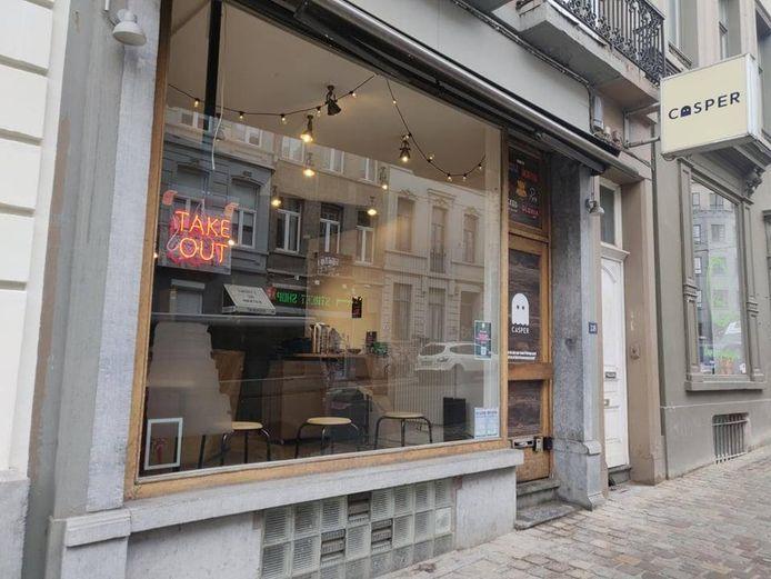 Casper est installé rue Lesbroussart à Ixelles.