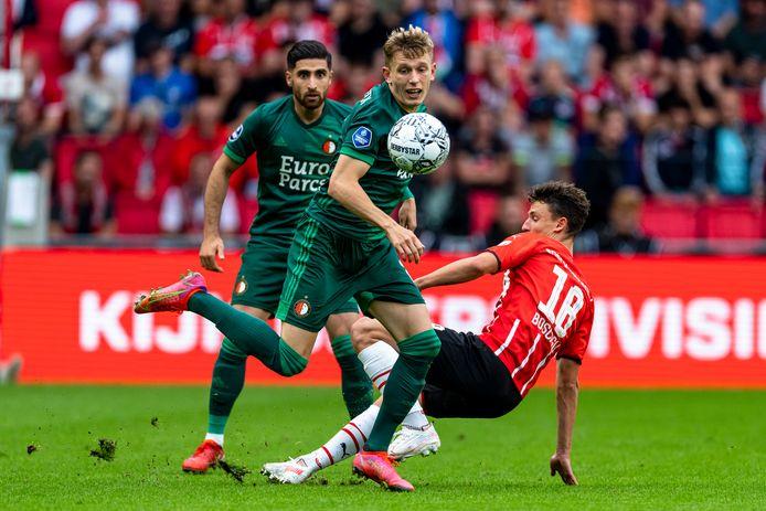 Marcus Holmgren Pedersen gaf zondag de assist bij de 0-1 van Jens Toornstra.