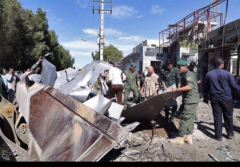 Het is de tweede keer in enkele maanden dat een aanslag wordt gepleegd in een Iraanse stad.  Beeld REUTERS