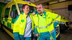 """Katrijn (37) en Kristof (41) werken samen in 'De MUG': """"Kusjes zijn voor thuis. In het ziekenhuis zijn we professionals"""""""
