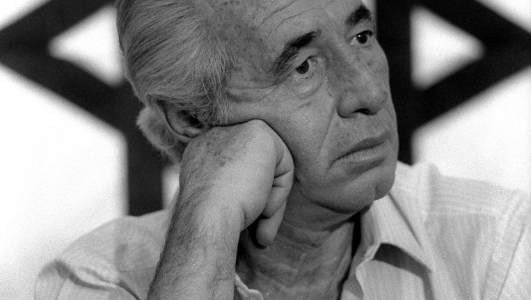 Premier Shimon Peres, 1986 Beeld Reuters