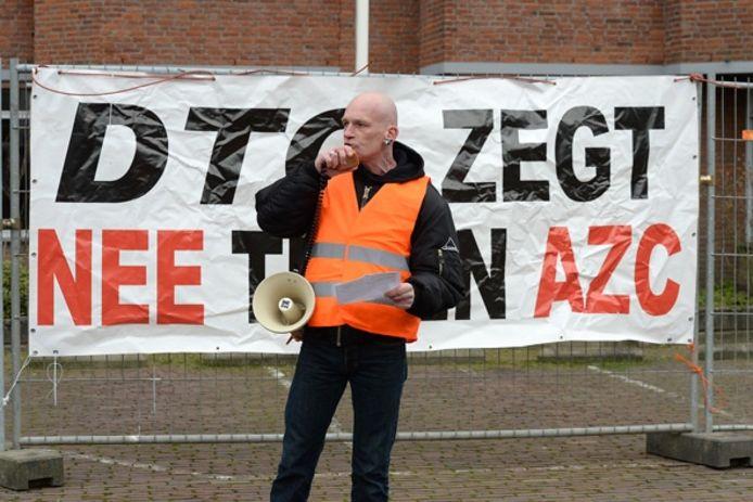 Toespraak bij de azc-demonstratie in Cuijk.