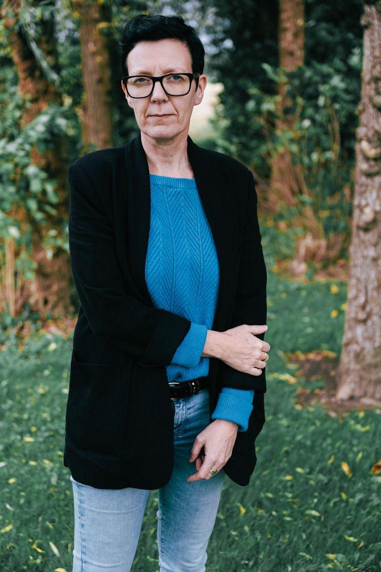 Maria-Soledad Van Hecke (48): 'Ik wil alleen zijn in mijn eenzaamheid.' Beeld Damon De Backer