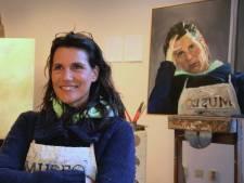 Down door corona: schilderes Sandra Thie genomineerd voor landelijke prijs met zelfportret
