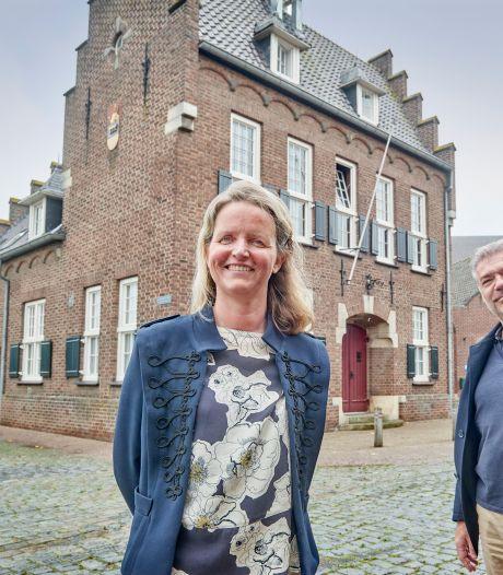 Nancy en John wonen in stadhuis van Megen, met de kluis in de bijkeuken