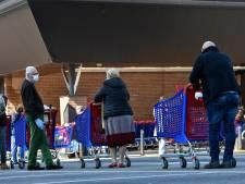 La situation revient doucement à la normale dans les supermarchés