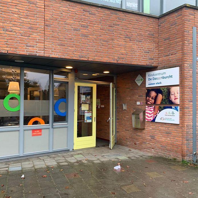 Kindcentrum De Dassenburcht in Nuenen is getroffen door een inbraak