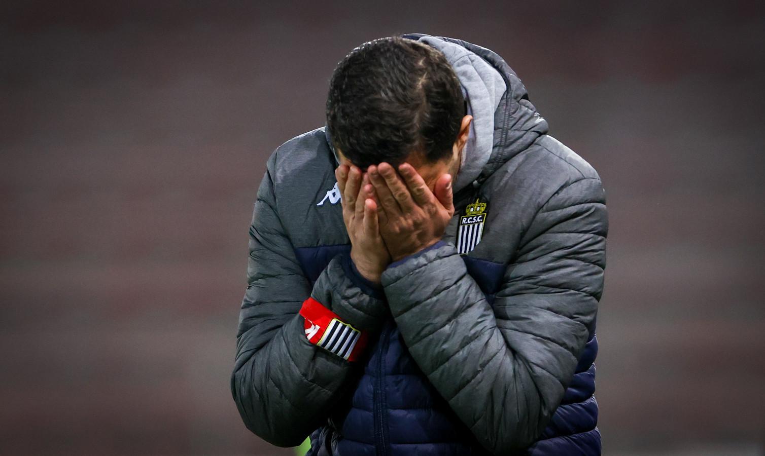 L'entraîneur carolo Karim Belhocine