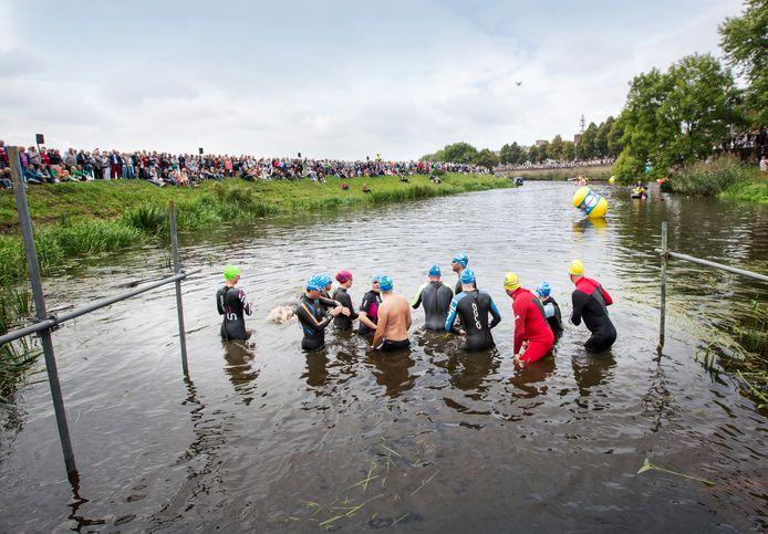 Swim to Fight Cancer in Den Bosch. Dit jaar mogelijk in Vught.