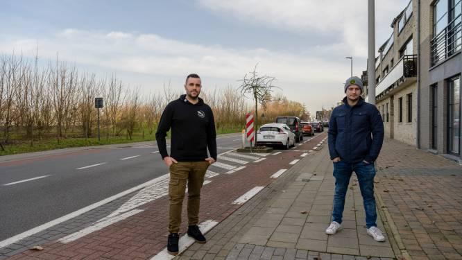"""Bewoners Kier zijn parkeerdruk beu en komen zelf met een plan: """"Extra parkeerplaatsen combineren met veiliger fietspad en hondenlosloopweide"""""""