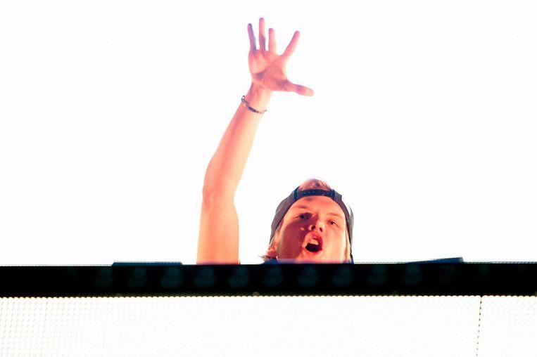 Tim Bergling alias Avicii in 2014 tijdens een optreden in de Ziggo Dome. Beeld anp