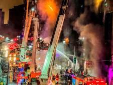 Meer dan 40 doden bij brand in wolkenkrabber Taiwan