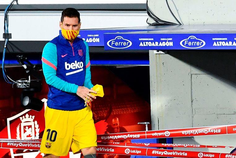 Mogelijk heeft City het geld nodig voor een transfer van Lionel Messi. Beeld AFP
