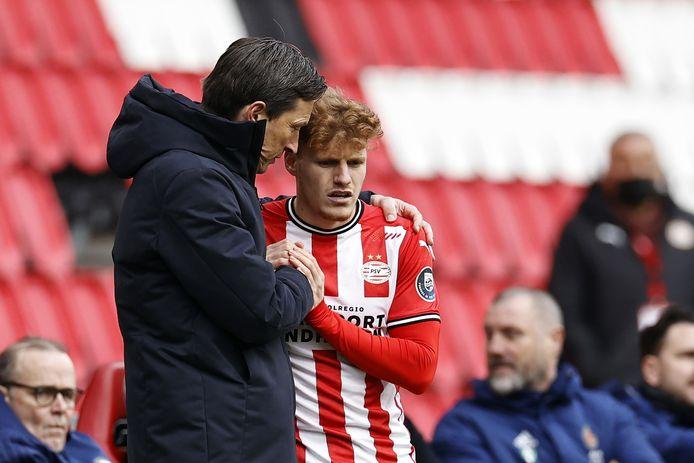 Quelques minutes supplémentaires au compteur du jeune Yorbe Vertessen avec le PSV.