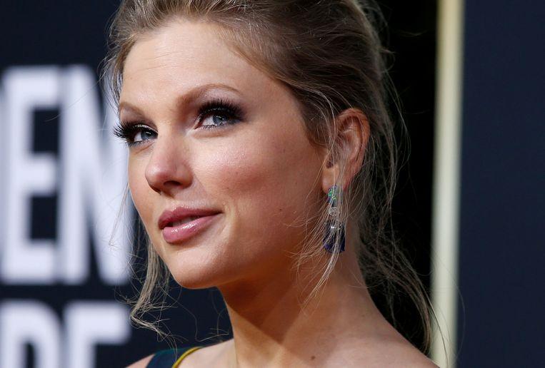 Taylor Swift tijdens de Golden Globe Awards in 2020. Beeld REUTERS