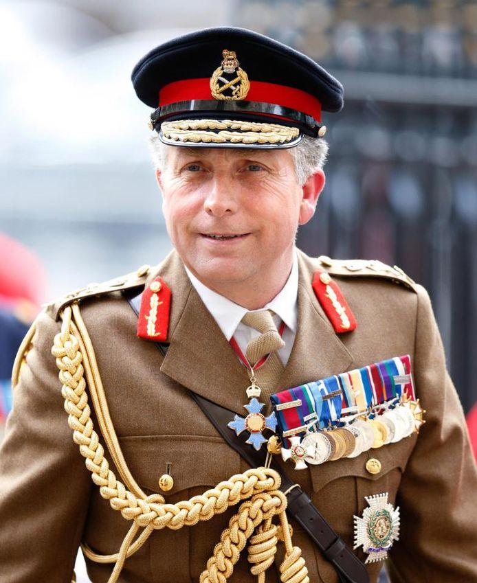 De Britse bevelhebber Nick Carter.