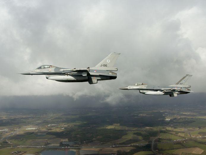 Nederlandse F16's.