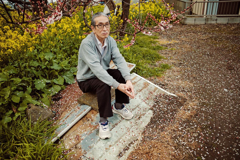 Seiju Nambara: 'Het was een enorme puinzooi, alles lag door elkaar.' Beeld Kentaro Takahashi