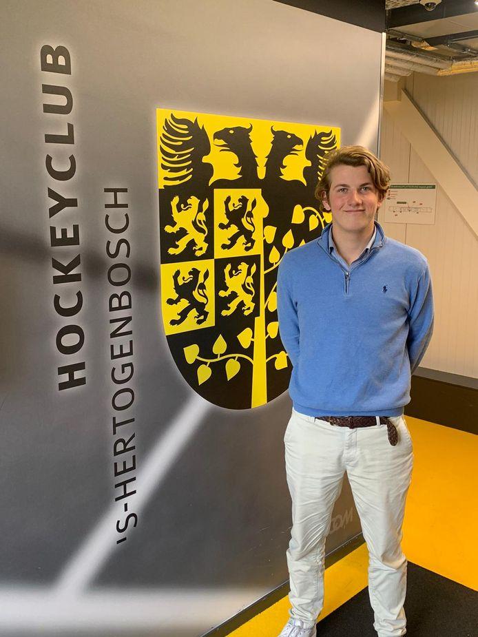 Flip Wijsman gaat keepen voor HC Den Bosch