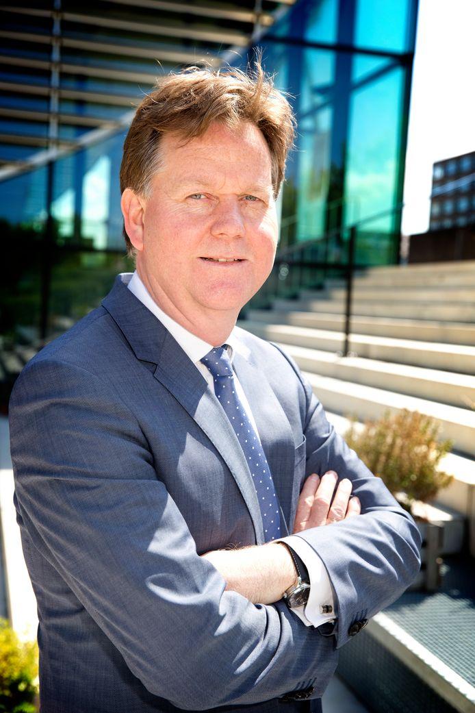 Henk Volberda, hoogleraar innovatie en strategisch management aan de Uva. Hij verzorgt sinds 2004 de Nederlandse data voor de economische ranglijst van het World Economic Forum