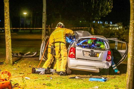 Ongeval op de Vossenbeemd in Helmond.