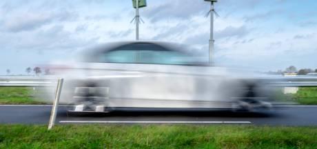 Veel minder hardrijders geflitst op Zeeuwse wegen, alleen verkeer op de N57 vaker op de bon